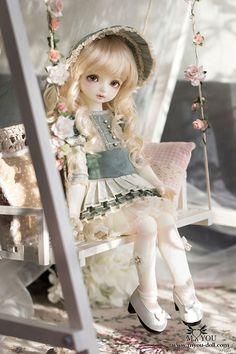 Hilda-Ellen Anime Dolls, Ooak Dolls, Blythe Dolls, Reborn Dolls, Beautiful Barbie Dolls, Pretty Dolls, Estilo Lolita, Enchanted Doll, Cute Baby Dolls