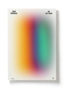 Jack Kerouac book covers by Torsten Lindsø Andersen, via Behance