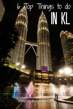 My top six things to do in Kuala Lumpur // Malaysia // Vagabond Baker