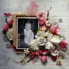 Cutie Pie *C'est Magnifique* - Scrapbook.com