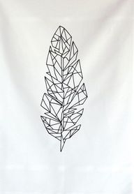 amazing! gorgeous minimal tattoo vector linear ink