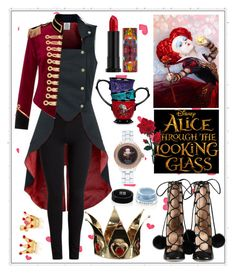 """""""Untitled #398"""" by meryflower ❤ liked on Polyvore featuring Pinky Laing, Givenchy, Urban Decay, Gucci, Disney, contestentry and DisneyAlice"""