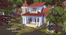 Andaran atish'an - Nicky F. - Andaran atish'an Little Flower 🌸 Origin ID : Object Name : Little Flower I build a new House. It´s CC free and I hope you like it. :) I have some Ideas from other Simmers in this Build. The Shelf under the. Sims 4 House Plans, Sims 4 House Building, Building A New Home, Sims 4 Ps4, Sims 3, Sims 4 House Design, Casas The Sims 4, Sims 4 Characters, Sims 4 Build