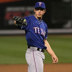 Derek Holland. #45 Pitcher for the Texas Rangers. ALCS Champs 2010 & 2011. Pitched a shutout in the 2011 World Series against St Louis Cardinals(: Rangers 4, St Louis 0!