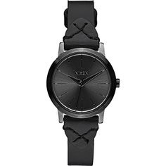 Nixon Womens A3982132 Kenzi Black Watch With Leather Band -- Check this awesome product by going to the link at the image.(It is Amazon affiliate link) #florida
