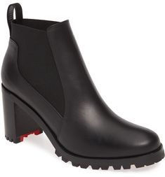 The top 5 boots to add to your wardrobe so you're ready for Fall, even if the local weather isn't. Cute Shoes, Men's Shoes, Fall Fashion Boots, Red Louboutin, Shoe Show, Red Sole, Pumps, Heels, Rubber Rain Boots