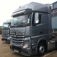 The new Mercedes Actros at Pentagon Commercials