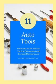 11 Uncommon automotive tools for an electric vehicle conversion and general auto maintenance. #cartools #tools #auto #cars #ev #electriccars #electricvehicle