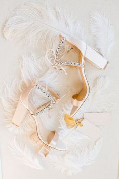 This Bohemian Wedding Theme is Killing It in 2019 - embellished wedding heels for weddings {Kir2Ben} {Pantone}