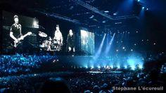 U2 en concert à Paris  à l'AccorHotels Arena  le mardi 10 novembre 2015  #U2ieTour