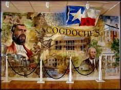Nacodgoches--The Oldest Town in Texas (BH note - some of my father's family were from here. Cute little town.)