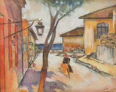 Francisc Sirato (1877-1953) - Mangalia Street, 1933