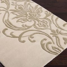 Candice Olson Damask Rug: 2  Colors Available