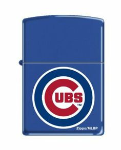 """Zippo Cubs Lighter, Blue/Red, 1.5 x 2.25-Inch by Zippo. Save 8 Off!. $26.54. Lifetime warranty. Windproof design. Zippo Blue/Red Cubs Lighter. This Zippo lighter carries a lifetime """"Fix it free"""" warranty. If this lighter ever fails you can return it to Zippo manufacturing for repair, no sales receipt needed. This and all other Zippo lighters are made in the USA."""
