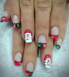 Cute Christmas Nails, Xmas Nails, Christmas Nail Designs, Toe Nail Designs, Halloween Nail Art, Cute Acrylic Nails, Stylish Nails, Winter Nails, Manicure And Pedicure