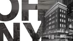 PORCELANOSA takes part in the Open House New York Weekend OHNY Weekend #NYC #NY