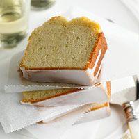 Vanilla Sparkling Wine Pound Cake (You can use Milk)