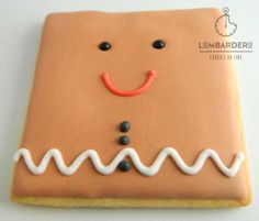 gingerman cuadrado – Galletaslombardero  Galletas de Navidad Christmas cookies