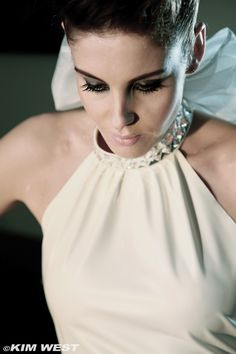 Audrey latex wedding dress