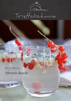 Pfirsich-Bowle #peaches