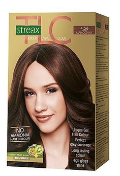 Streax Hair Colour Tlc Mahogany No 4.56, 170Ml -- You can get more details by clicking on the image.