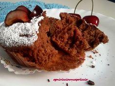 muffins cioccolato ciliegie mascarpone