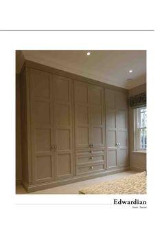 Built-in armoires.