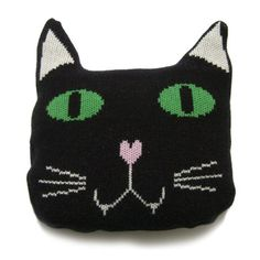 Cat Cushion from Knit and Destroy