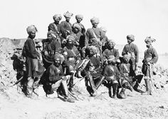 Group of Officers and Men of the 11th Bengal Cavalry: Prince of Wales Tour of India 1875-6 (vol.6)