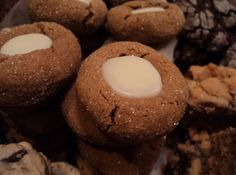 Gingerbread Thumbprints Recipe