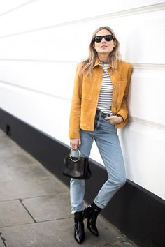5 Ways To Style A Suede Jacket