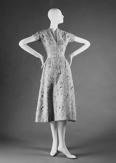 'Ficelle' dress, S/S 1949. Metropolitan Museum of Art