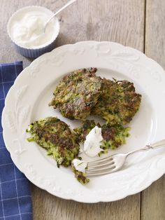 Farm to Fork: Zucchini Fritters #myplate #veggies