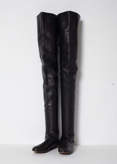 Black Thigh High Boots $695
