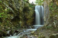 774 Cascada Moara Dracilor, Cheile Tesnei, Muntii Mehedinti Visit Romania, Beautiful Places To Visit, Waterfall, Outdoor, Memories, Prague, Outdoors, Memoirs, Souvenirs