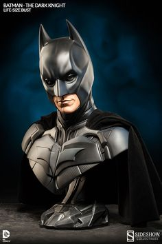 DC Comics Batman The Dark Knight Life-Size Bust by Sideshow | Sideshow Collectibles