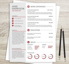 Time to update your CV? Why not to use resume and cover letter template.