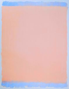 loverofbeauty: Mark Rothko: Untitled (pink) 1969)