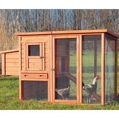 You'll love the Trixie Chicken Coop with Outdoor Run at Wayfair - Great Deals on all Pets  products with Free Shipping on most stuff, even the big stuff.