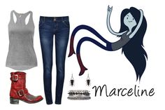 """Marceline"" by figuero96 ❤ liked on Polyvore featuring Mexicana and 1&20 Blackbirds"