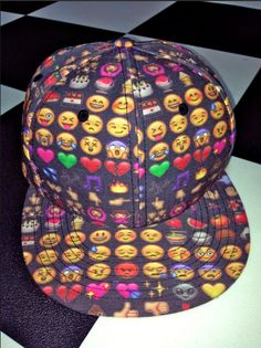 SWEET LORD O'MIGHTY! EMOJI SNAPBACK IN BLACK