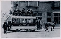 Horse Drawn Tram, Northampton (1903)