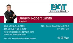 Exit Realty Business Cards Custom Online