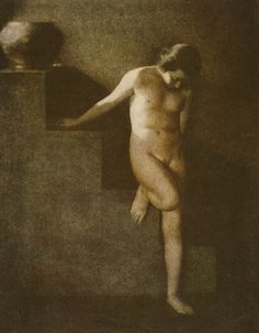 Frantisek Drtikol. Untitled [nude study] 1912