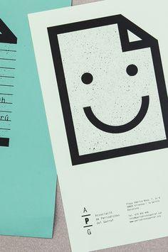 Okay, I'm a sucker for giant smiley faces (haha) – via PRINT.PM