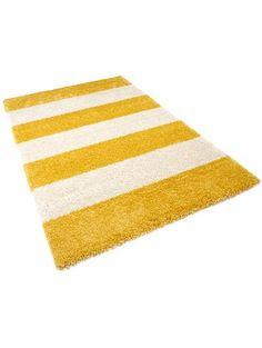 Hochflor Teppich Graphic Stripe (140x200) für 89,95 EUR