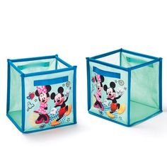 Avon Living Disney Mickey Mouse U0026 Minnie Mouse Collapsible Storage