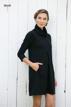 4305650b46d Kim Ctn Cashmere Cowl Preppy Dresses