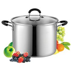 Cook N Home 02440 Stockpot Saucepot with Lid Induction Compatible, 8 quart, Metallic Cook N Home http://www.amazon.com/dp/B012OIVV1C/ref=cm_sw_r_pi_dp_k66Qwb1X7703Z