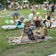 Lawn party.